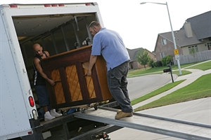 Moving a piano to a new house
